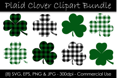 St. Patrick's Day Shamrocks and Clovers
