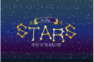 In The Stars Display Font