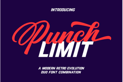 Punch Limit-Font Duo