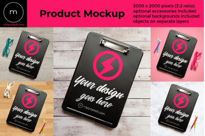 Storage Clipboard Flat Lay | Mock Up