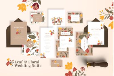 Leaf & Floral Wedding Suite