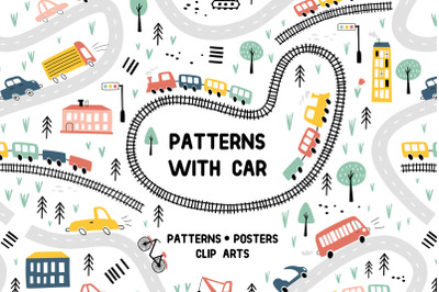 Patterns with car
