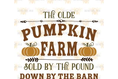 The Olde Pumpkin Farm