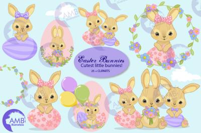 Easter Bunny clipart AMB-2721