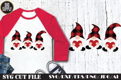 Gnome Valentine SVG Cut File