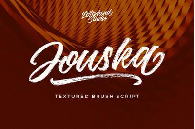 Jouska Textured Brush Script