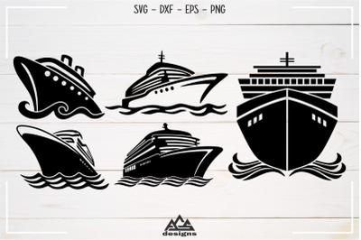 CRUISE Ships Pack Svg Design
