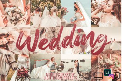 Lightroom presets, desktop presets, mobil, wedding presets, instagram
