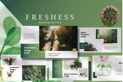 Freshness Modern - Beautiful Powerpoint Template