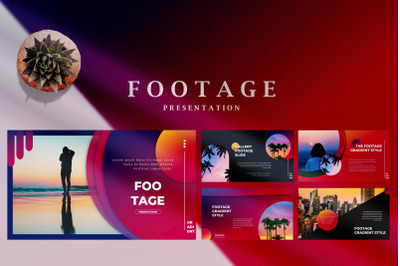 Footage Gradient - Creative Powerpoint