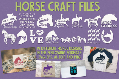 Horse Craft Files