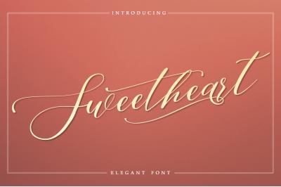Sweetheart - Elegant Font