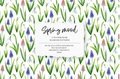 Spring Mood Pattern Collection