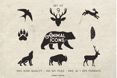 Rustic Nature Icons