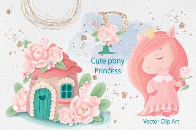 Cute pony Princess