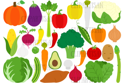 Vegetables Clipart, Veggies, Healthy Food, Broccoli, Carrot