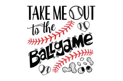 Take me Out to the Ballgame, Baseball, svg eps png