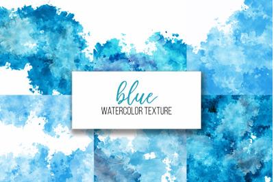 blue watercolor textures