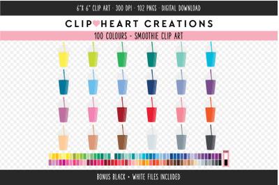 Smoothie Clipart - 100 Colours