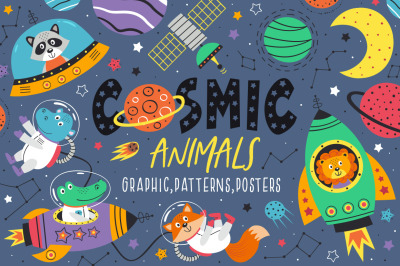 cosmic animals collection