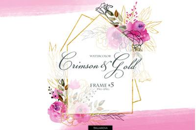 Crimson & Gold. Frame #5