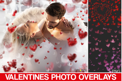 Valentine's photo overlays, photoshop, blowing kiss