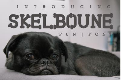 Skelboune Fun Font