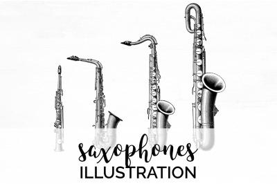 Saxophone Clipart Music