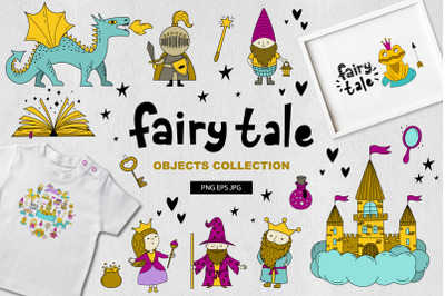 Fairy tale/objects collection