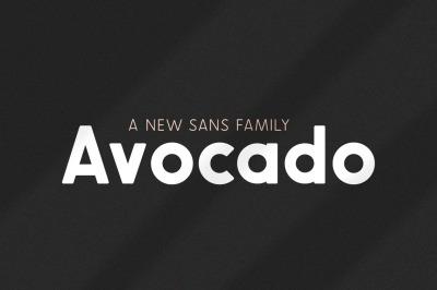 Avocado Sans Font Family