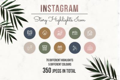 Instagram Story Highlight Icons, Instagram Story Highlight, Instagram