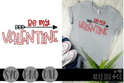 Be my valentine SVG, PNG, DXF, Valentine's Day