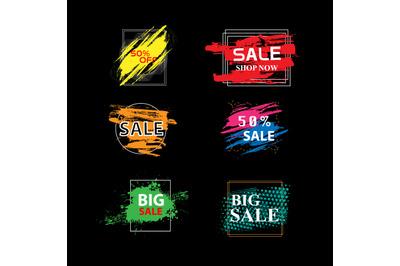 sale vector design