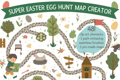 Easter egg hunt map creator