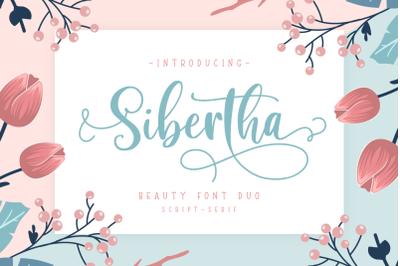Sibertha -Font Duo-