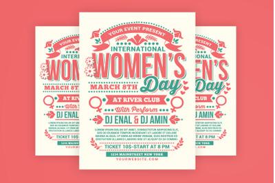 Womens Day International Flyer