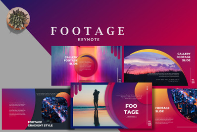 Footage Gradient - Beautiful Creative Keynote