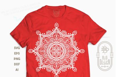 Mandala SVG - Mandala Drawing SVG, Mandala DXF EPS PNG SVG