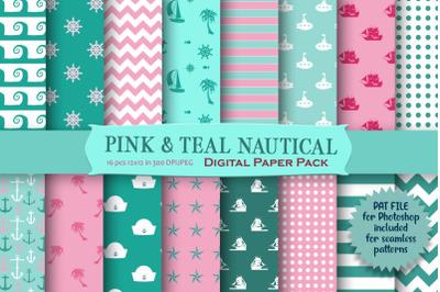 Nautical Digital Paper Pack