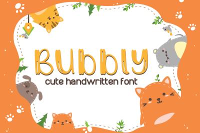 Bubbly Cute Font | LoveSVG