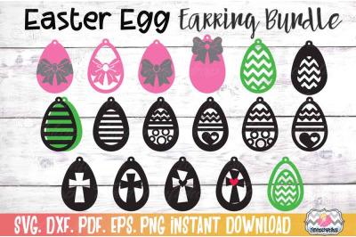 Easter Earring Bundle, Easter Egg Earrings, Cross Earrings,Bow Earrin
