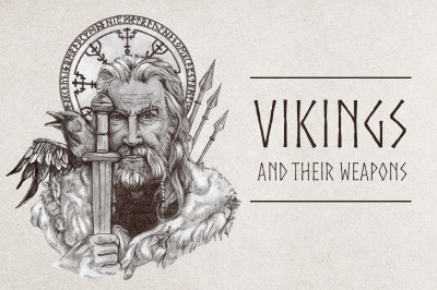 Vikings and their weapons