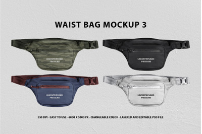 Waist Bag Mockup 3