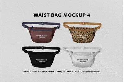 Waist Bag Mockup 4