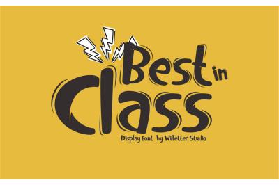 Best In Class (Bonus)