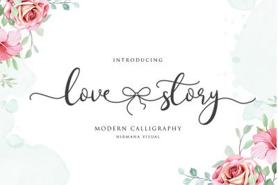 Lovestory - Romantic Font