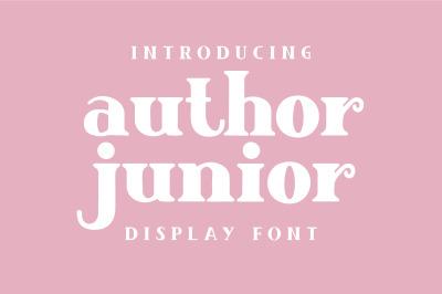Author Junior