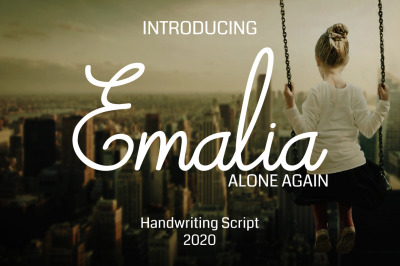 Emalia - Handwriting Script Font