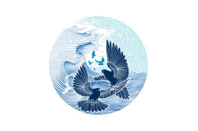 Animals - Dove Bird Vector