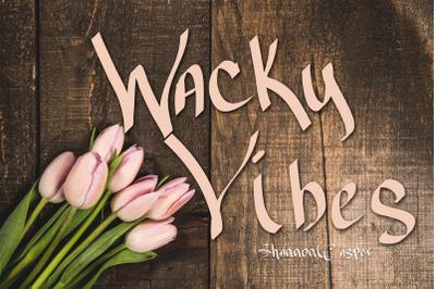 Wacky Vibes Fun Font